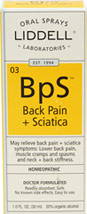 Back Pain + Sciatica Spray