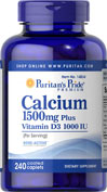 Calcium 1500 mg with D 1000 IU