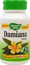 Damiana Leaves 400 mg