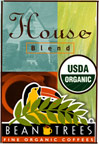Organic House Blend Whole Bean Coffee - 2 Bags