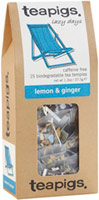 Lemon & Ginger Tea - 6 Bags