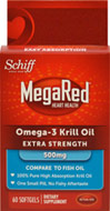 MegaRed™ Extra Strength 500mg Omega-3 Krill Oil