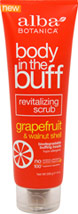 Body in The Buff Grapefruit & Walnut Scrub