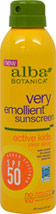 Very Emollient Active Kids Sunscreen Spray 50 SPF