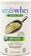 Grass Fed Organic Whey Protein Plain Unsweetened