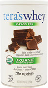 Grass Fed Organic Whey Protein Fair Trade Dark Chocolate