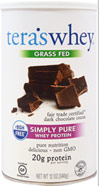 rBGH Free Whey Protein Fair Trade Dark Chocolate