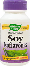 Standardized Soy Isoflavones 40 mg