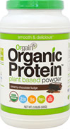 Organic Protein Plant Based Powder Creamy Chocolate Fudge