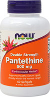 Double Strength Pantethine 600 mg