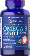Omega-3 Fish Oil Coated 1200 mg