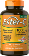 Ester-C® with Citrus Bioflavonoids 1000 mg <p><b>From the Manufacturer's Label: </p></b><p><b>Unique Gentle Form of Vitamin C</p></b><p>Non-acidic Ester-C® is a breakthrough patented formula that contains naturally-occurring Vitamin C metabolites and is well retained.**</p><p>Delivers advanced antioxidant support**</p><p>Non-acidic: gentle on the digestive tract**</p><p>Well-retained & max