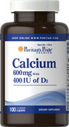 Calcium 600mg plus Vitamin D 400IU