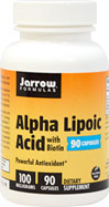 Alpha Lipoic Acid 100 mg with Biotin
