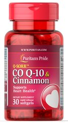Q-SORB™ Co Q-10 120 mg plus Cinnamon 1000 mg