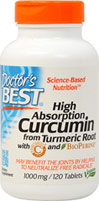 High Absorption Curcumin 1000 mg with Bioperine 10 mg