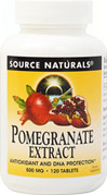 Pomegranate Extract 500 mg
