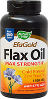 Flax Oil Max Strength 1,300 mg