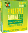 Pineapple Spinach Kale Apple Bars