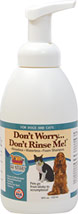 Don't Worry No Rinse Foam Dog Shampoo