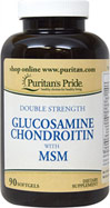Double Strength Glucosamine Chondroitin with MSM Softgels