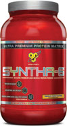 Syntha-6 Chocolate Peanut Butter <p><b>From the Manufacturer's Label: </p></b><p>Designed for individuals who want an ultra-premium protein powder that will help them reach their nutritional and physical goals. These products are free of aspartame and are available in the following flavors: Chocolate, Vanilla, Strawberry Chocolate Peanut Butter, Cookies & Cream and Mochaccino.</p> <p>Manufactured by BSN®.</p> 2.91 lbs Powder  $29.99