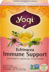 Echinacea Immune Support Tea <p><strong>From the Manufacturer's Label:</strong></p><p>This exclusive combination of three varieties of Echinacea Root provides a full spectrum of traditional herbs. They complement this herb with European Elderberry and soothing Organic Mullein Leaf as well as Astragalus Root. Cinnamon and Rose Hip add a light fragrant essence.  Echinacea Tea is sure to become an all-season favorite.</p><br /> 16 Tea Bags  $7.99