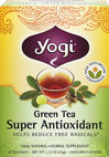 Green Tea Super Antioxidant <p><strong>From the Manufacturer's Label:</strong></p><p>Our special formulation of Organic Green Tea along with Grapeseed and Amla Extracts supplies naturally potent antioxidants and help to reduce free radicals.  Organic Lemongrass adds bright, citrus flavor, while Licorice and Jasmine Green Tea lend sweet and floral notes.  So relax and rejuvenate with a cup of Green Tea Super Antioxidant.</p> 16 Tea Bags  $6.74