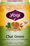 Chai Green Tea <p><b>From the Manufacturer's Label:</b></p> <p>Experience a refreshing alternative in the exotic world of chai.  We've crafted this unique blend with carefully selected Organic Green Tea Leaf.  A favorite in China for over 400 years, this delicious tea supplies antioxidants that can support the body's defenses against damaging free radicals.  Lively Cinnamon and Ginger combine for true chai flavor, and light, peppery notes of Cardamom rou