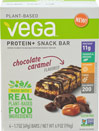 Chocolate Caramel Protein + Snack Bars