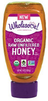 Organic Raw Unfiltered Honey