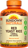 Sundown Naturals Red Yeast Rice 1200 mg