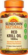 Sundown Naturals Red Krill Oil 1000 mg