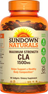 Sundown Naturals Maximum Strength CLA 1500MG
