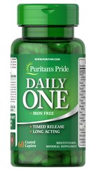 Iron Free Multivitamins Timed Release