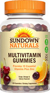 Sundown Naturals Multivitamin Gummies