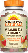 Sundown Naturals Vitamin D Gummies