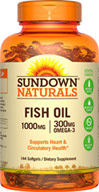Sundown Naturals Fish Oil 1000 mg