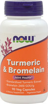 Turmeric Standardized Extract & Bromelain