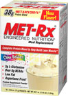 Meal Replacement Cake Batter MET-Rx® Meal Replacement Powder is the foundational supplement for all athletes looking to improve their overall health and physique. It is a great-tasting way to make sure you are getting the balanced nutrition you need to reach your fitness goals.* Plus, our convenient packets mean you can take them whenever and wherever your athletic lifestyle takes you. Balanced nutrition is important to anyone looking to create a lean, healthy body. One packet provides an e