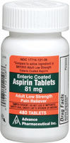 Aspirin Low Dose 81 mg