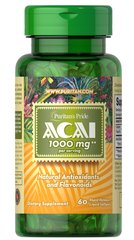 Acai 1000 mg  60 Softgels 1000 10.99