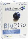 Blu 2 Go <strong></strong><p><strong>From the Manufacturer's Label:</strong></p><p>Blu 2 Go energy melts contains pTeroPure Pterostilbene, a pure form of the all-trans pterostilbene found naturally in blueberries. Harnessing the science behind blueberries and the superior cellular uptake of pterostilbene . One capsule provides the amount of pterostilbene found in over 500 cartons of blueberries </p> 30 Melts  $9.99