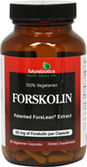 Forskolin <p><strong>From the Manufacturer's label:</strong></p><p>Each capsule contains 25 mg of Forskolin.</p><p>Forskolin, a diterpene, is standardized from Coleus forskohlii root extract, an ancient medicinal phytonutrient indigenous to Ayurvedic medicine.  Coleus forskohlii is a member of the mint family and is a perennial herb with fleshy, fibrous roots that is native to subtropical and warm temperate habitats.  It is the only known plant sourc
