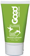 Almost Naked Personal Lubricant <P><B>From the Manufacturer's label</B></P><P><P><B>Make Love Organic</B></P><P>Almost Naked Personal Lubricant is made by Good Clean Love</P><P>95% Organic Ingredients</P><P>No Petrochemicals, No Parabens, No Glycerin</P><P>Naturally Moist, Sensuously Smooth, Long Lasting</P><P>Cruelty Free, 100% Vegan</P><P>Safe with Latex & Toys</P&