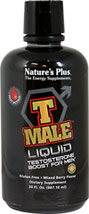 T Male™ <P><B>From the Manufacturer's label</B></P><P>T Male Capsules is manufactured by Natural Organics Laboratories, Inc. makers of Nature's Plus</P><P>Gluten Free</P><P>Mixed Berry Flavor</P>  30 oz Liquid  $28.99