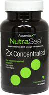 NutraSea 2x Concentrated Balanced EPA & DHA