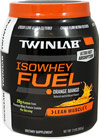 Iso Whey Fuel Orange Mango <p>* 25 grams of Whey Protein </P>                                                            Different from standard whey proteins, the whey protein in Twinlab IsoWhey Fuel is cross flow ultra filtered to deliver a higher quality, fas absorbtion, easily digestible form of Whey Protein Isolate without added fat, sugar, or carbohydrates.  Twinlab IsoWhey Fuel is instantized to make mixing with a spoon or a few shakes of your shaker cup easy - no blender requ