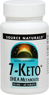 "7 KETO DHEA 50 mg ""We are proud to bring you 7 KETO DHEA 50 mg from Source Naturals. Look to Puritan's Pride for high quality national brands at the best possible prices. 60 Tablets 50 mg $19.99"