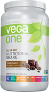 Vega One All In One Shake Chocolate Good for your body and the planet, Vega™ is the clean, plant-based chose to fuel our healthy active lifestyle - without compromise. Vega One is als a delicious, nutrient-supplementing addition to your favorite smoothie recipe- just blend and thrive.  30.9 oz Powder  $54.99